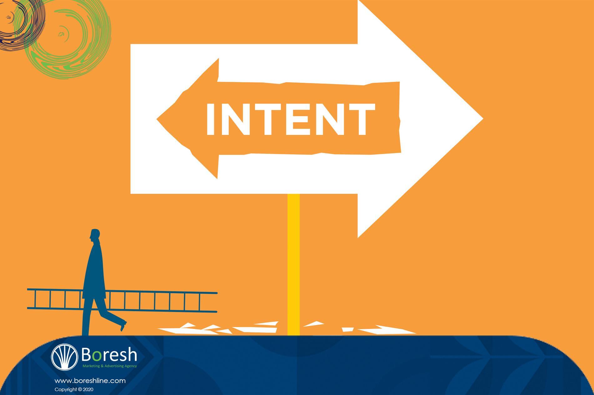 نیت (intent) - گروه برندسازی، تبلیغات،بازاریابی و توسعه کسب و کار برش