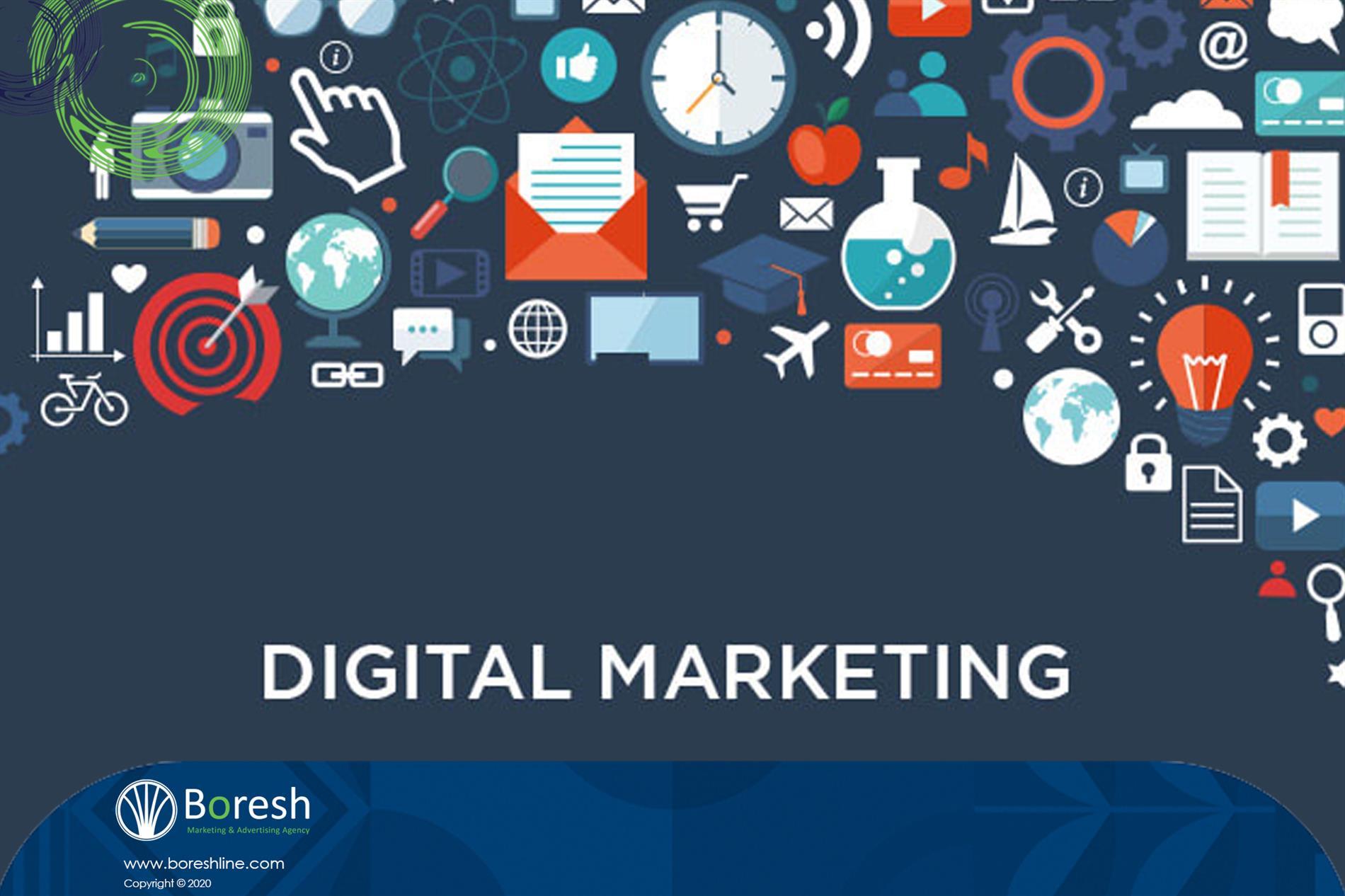 تعریف بازاریابی دیجیتال - گروه برندسازی، تبلیغات،بازاریابی و توسعه کسب و کار برش