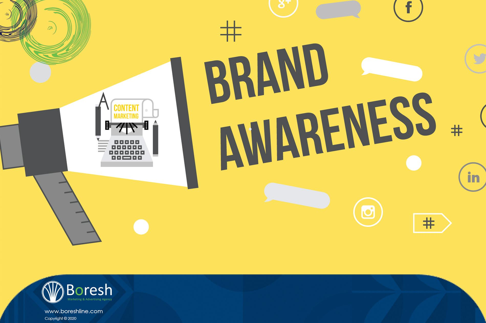 """تعریف """"آگاهی برند"""" (Brand Awareness) چیست؟ - گروه برندسازی، تبلیغات،بازاریابی و توسعه کسب و کار برش"""